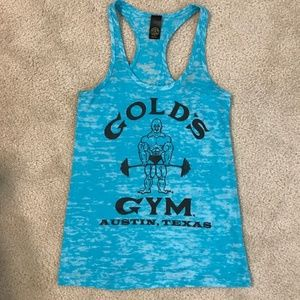 Gold's Gym Burnout Tank Top Size Small
